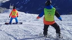 VI snowboarden