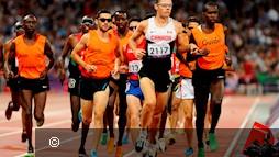 Atletiek visueel beperkten